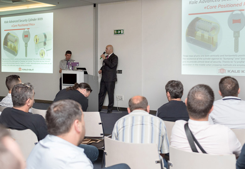 Kara-Ka and Kale Kilit Held a Seminar on the Topic Innovations in the Locking Systems